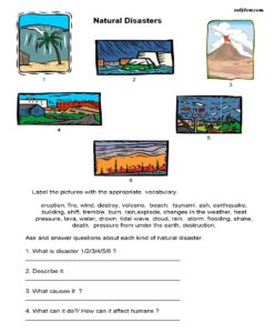 Natural-disasters-vocabulary---speaking-activity.