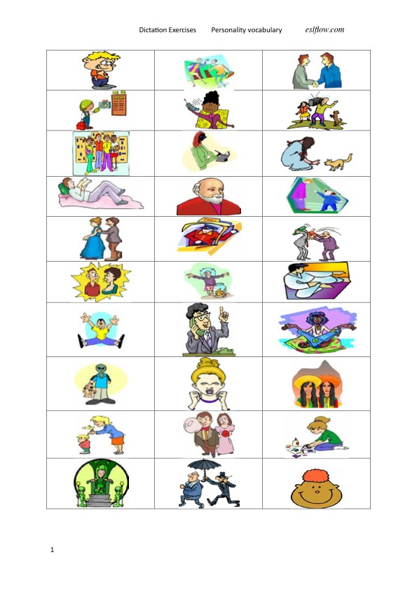personality adjectives vocabulary lesson eslflow talk clipart png clipart talk bubble