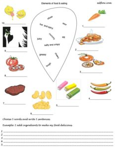 Common food and eating vocabulary and expressions