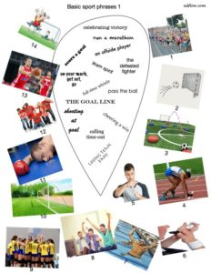 Common sport phrases vocabulary exercise